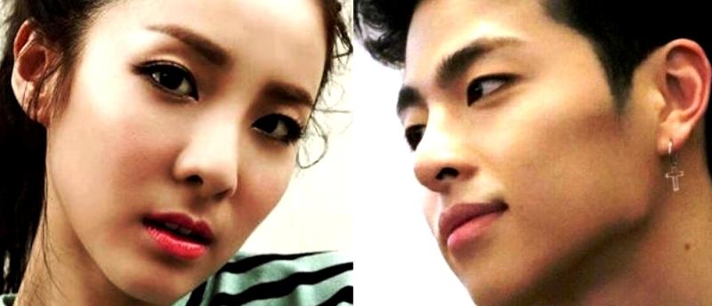 Сандара Пак и Ку Джунэ смотрят друг другу в глаза