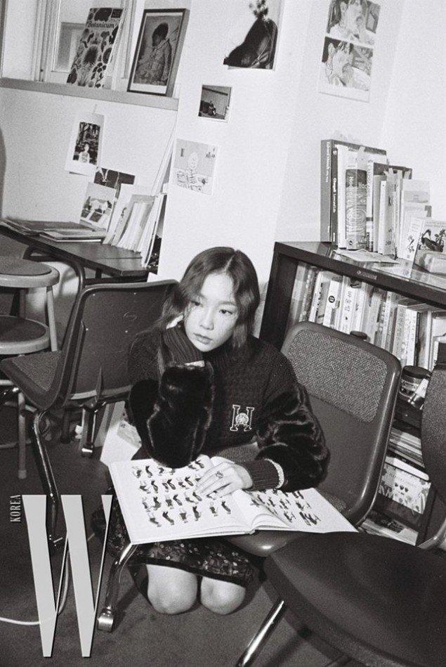 Фотосессия Ким Тэён для «W»