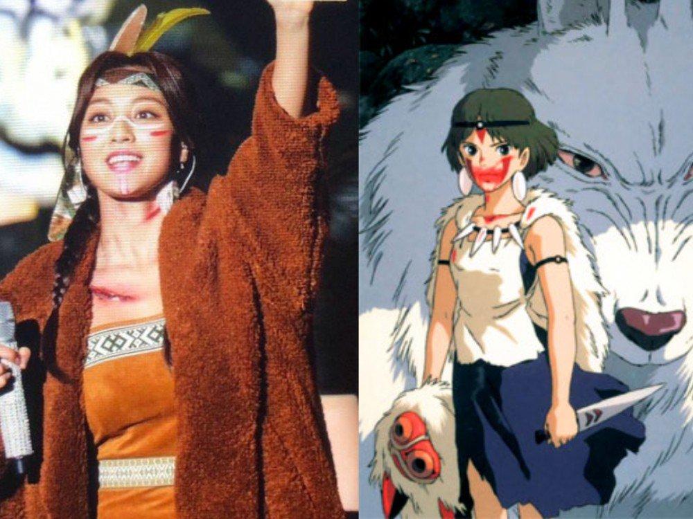 Джихё - принцесса Мононоке
