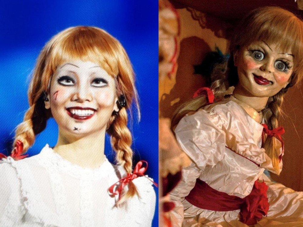 Дахён - кукла Аннабель