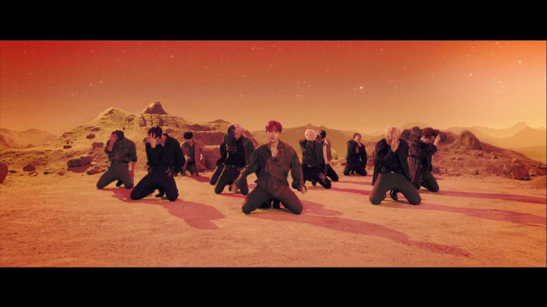 Wanna One выпустили клип на песню «Spring Breeze»!