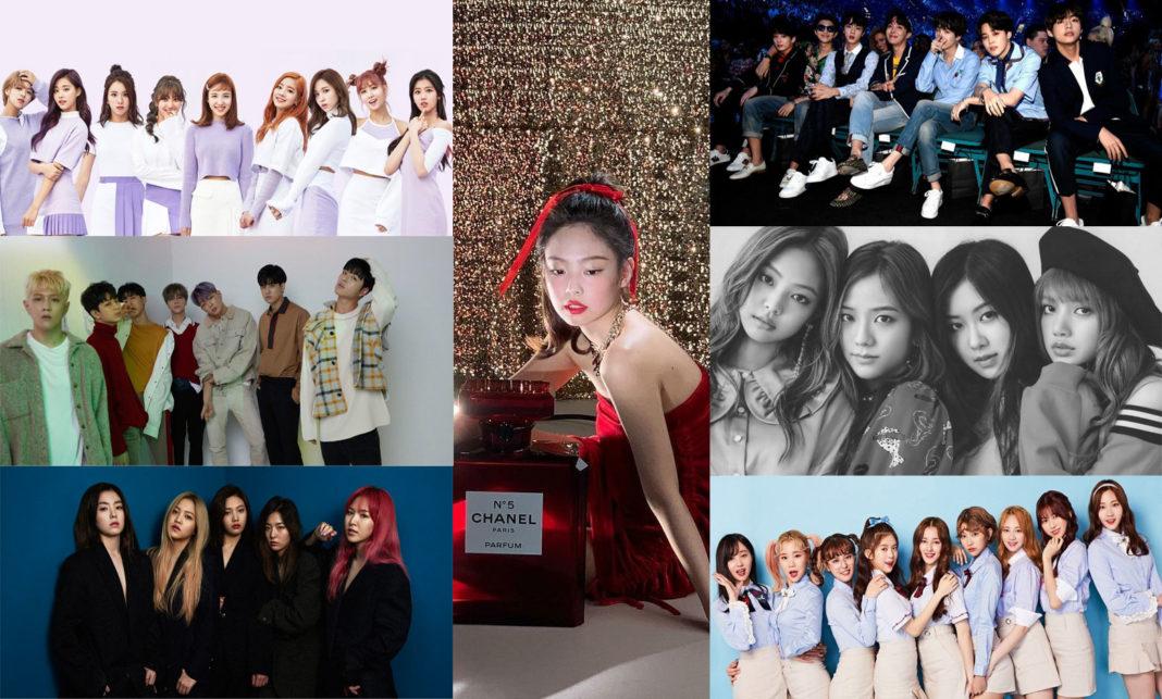 ТОП: 10 k-pop клипов 2018 года с самым большим числом просмотров