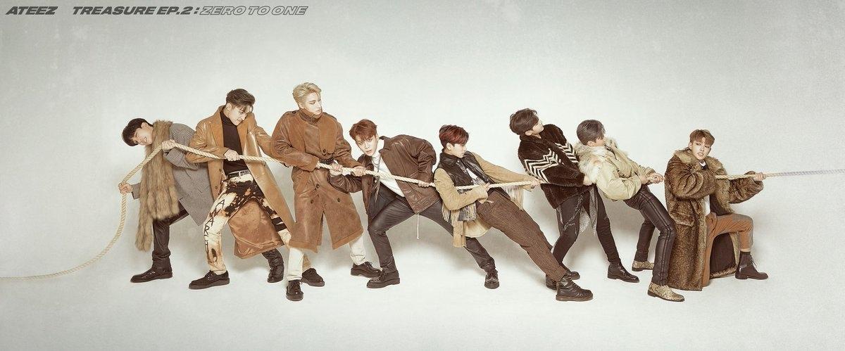 """Группа ATEEZ готовится представить новый мини-альбом - """"Zero To One"""""""