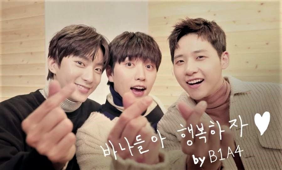 Трио B1A4 выпускает песню для фанатов