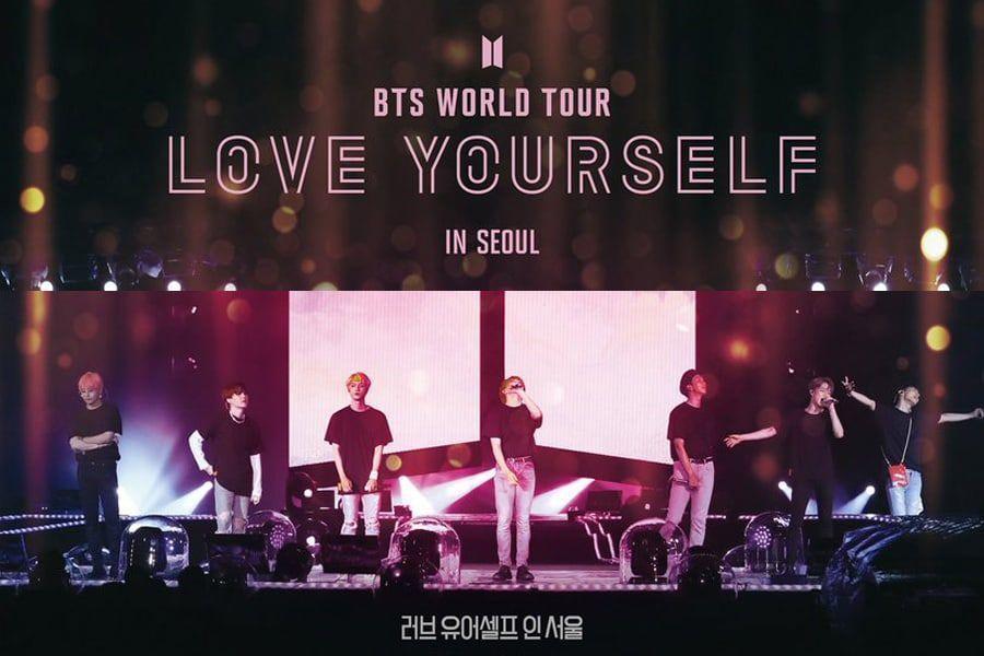 Фильм-концерт BTS «Love Yourself in Seoul» станет большим событием в истории кинопроката!