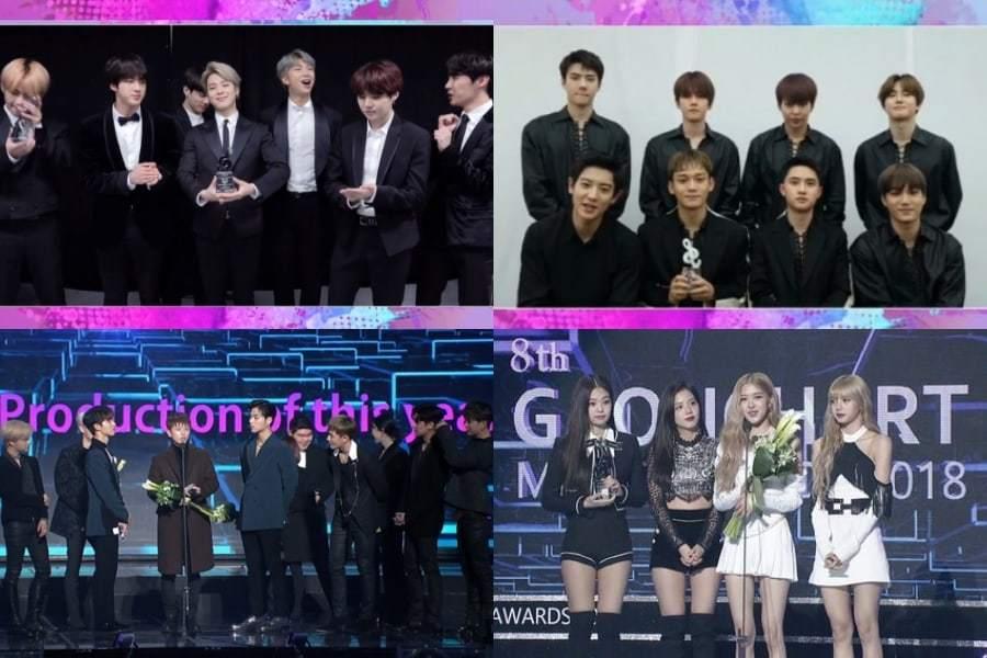 Объявлены победители церемонии Gaon Chart Music Awards