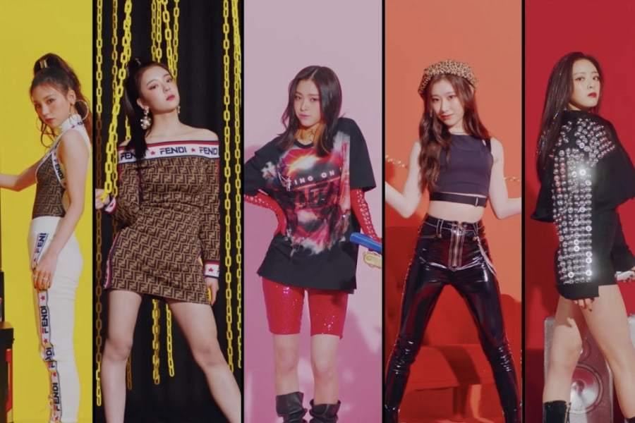 JYP представили новую девичью группу ITZY!