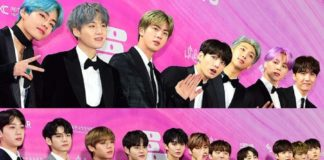 Звезды на красной дорожке 28-й церемонии Seoul Music Awards