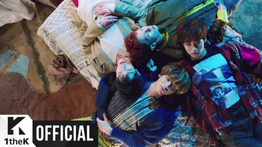 Группа N.Flying выпустила новый сингл в составе четырех человек