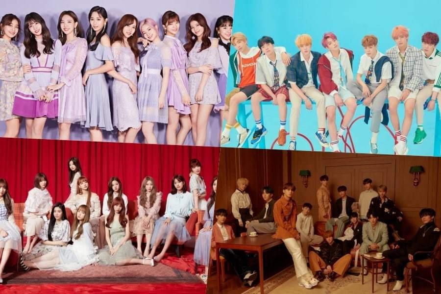 K-pop айдолы голосуют за самых красивых, горячих и успешных коллег