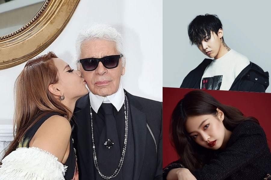 Корейские знаменитости отдают дань уважения Карлу Лагерфельду