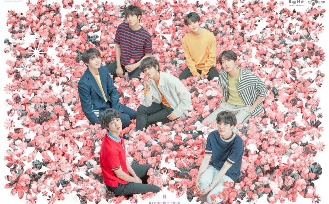 Группа BTS объявила мировое турне «Love Yourself: Speak Yourself»!