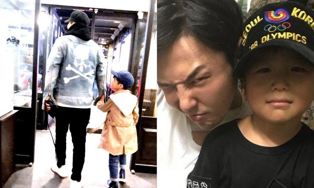 GD любимый исполнитель сына Ян Хён Сока!