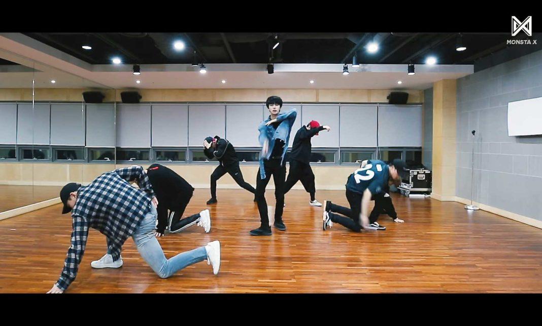 MONSTA X показали танцевальную практику на песню