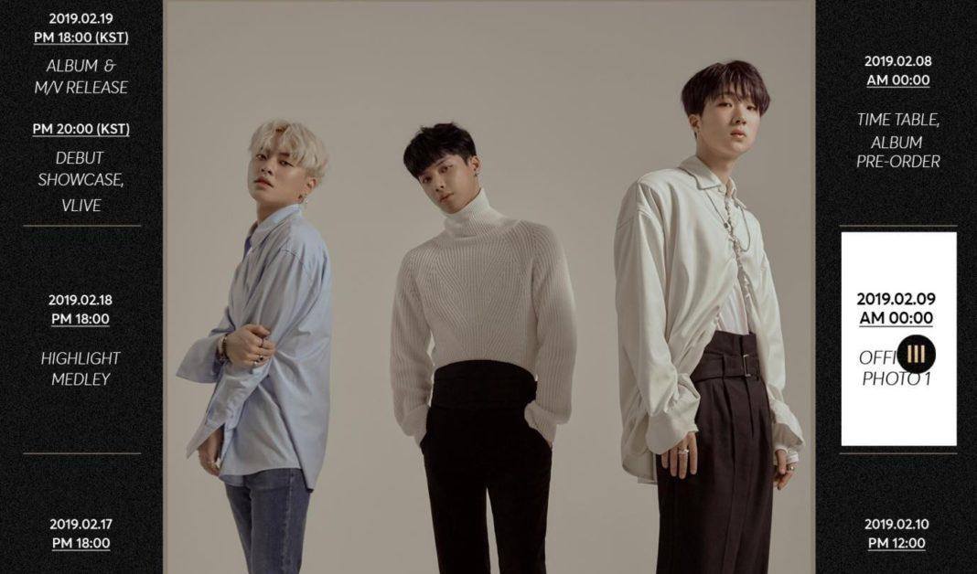 Новая группа TREI выпустила первый концептуальный снимок для дебюта