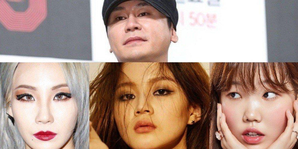 Нетизены спрашивают Ян Хён Сока о CL, Ли Хай и Сухён
