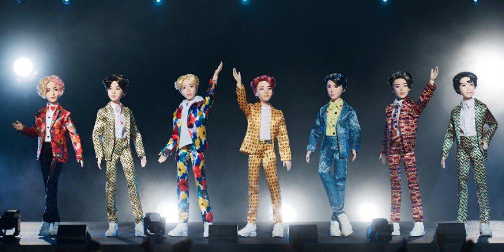 Mattel представили коллекцию кукол BTS!