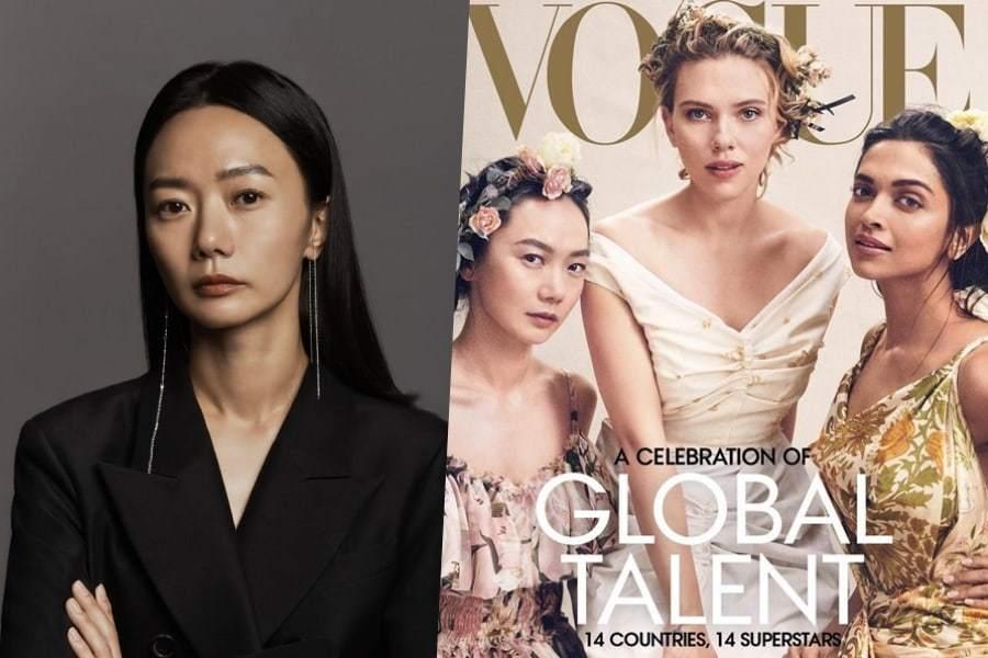 Пэ Ду На стала первой кореянкой, попавшей на обложку американского Vogue
