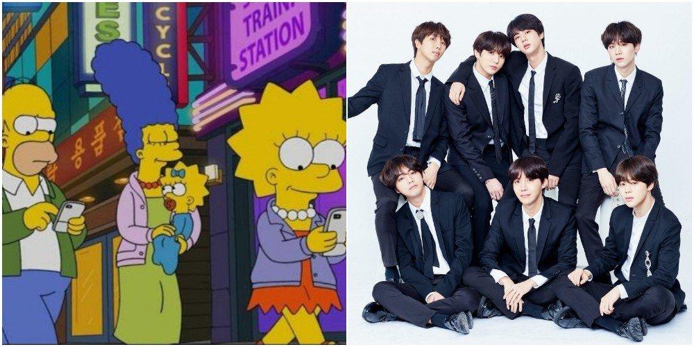 BTS и ARMY попали в мультсериал «Симпсоны»!