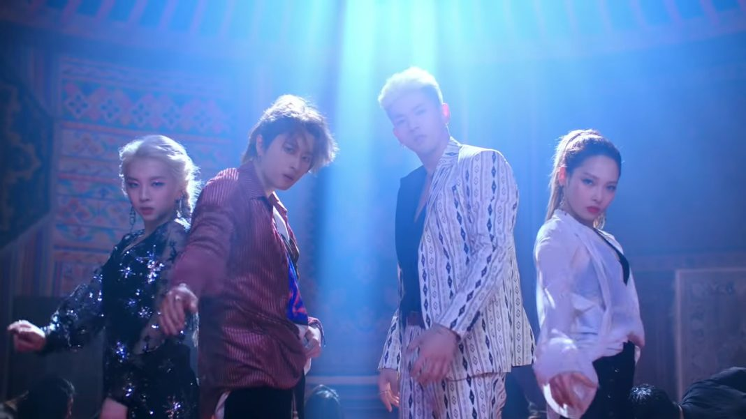 Группа KARD сняла performance video на песню