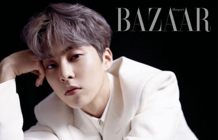 Сюмин из EXO снялся для журнала Bazaar