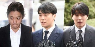 Канал KBS запретил Чон Джунёну, Сынри и Чхве Джонхуну участвовать в своих программах