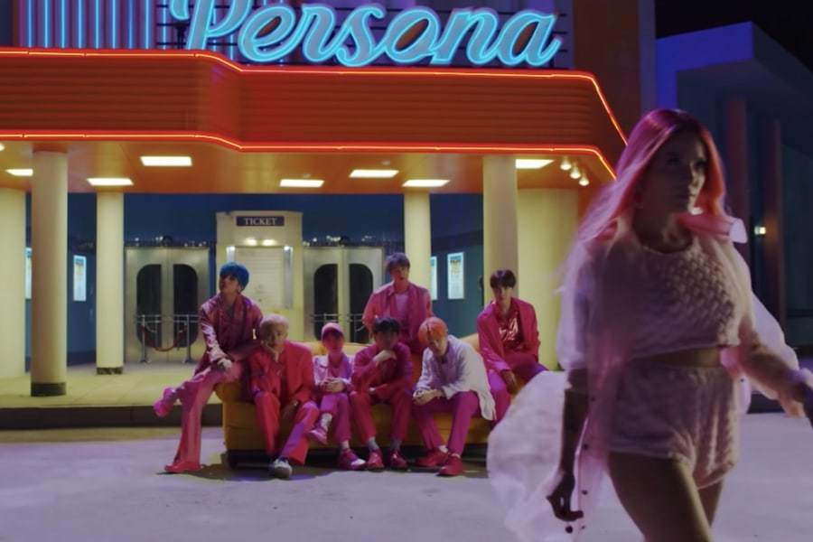 BTS выпустили первый тизер совместного трека с Halsey - «Boy With Luv»