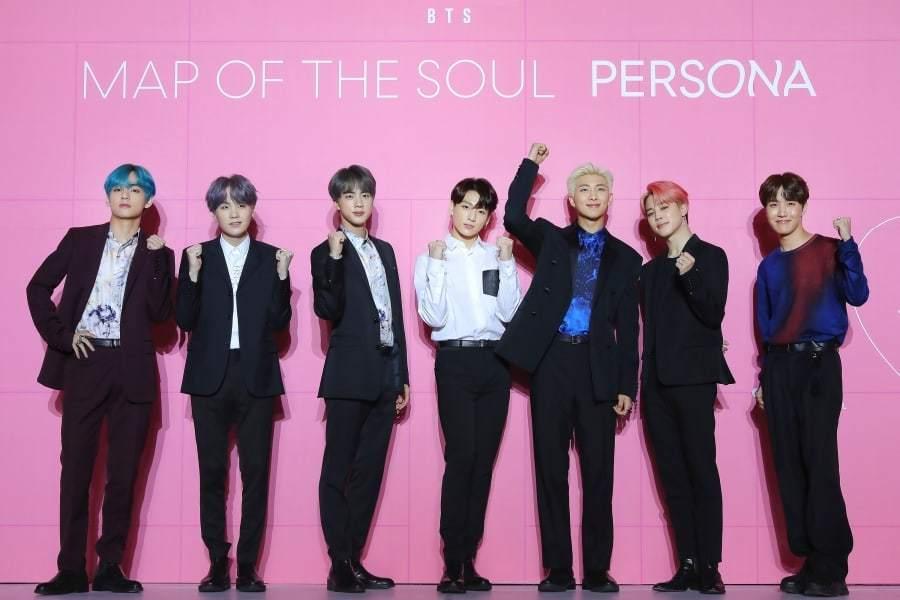 Пресс-конференция BTS: «Map Of The Soul: Persona»