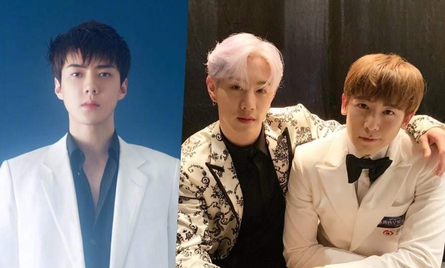 Сехун из EXO, Марк из GOT7 и Никхун из 2PM получили награды на Weibo Starlight Awards 2019