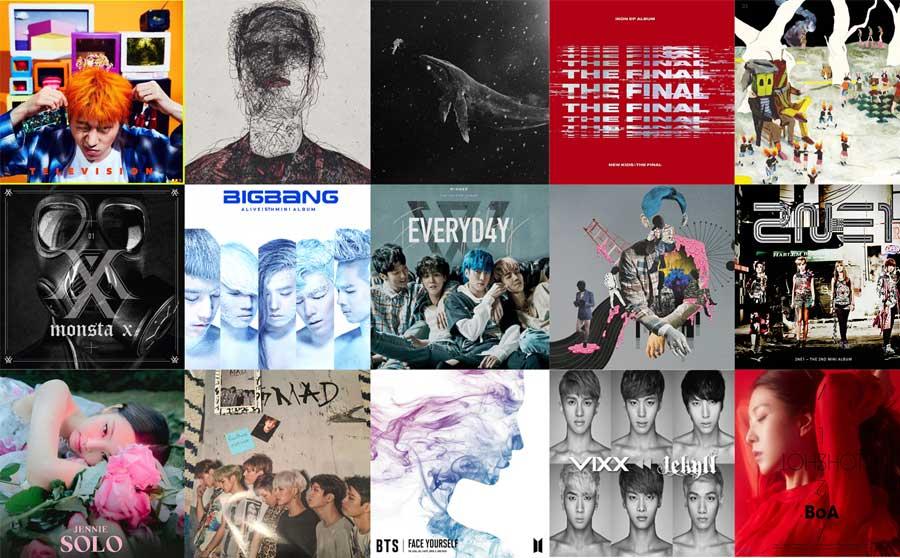 Выбираем самую красивую обложку k-pop альбома!