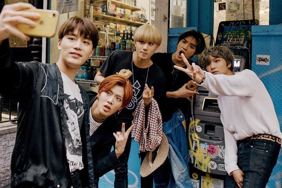 Группа NCT 127 привезла из Нью-Йорка прекрасную фотосессию