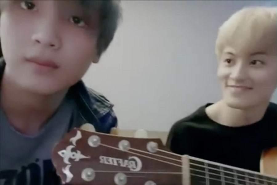 Марк и Хэчан из NCT сделали кавер на песню