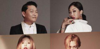 P-NATION открыло аккаунт в Instagram и опубликовало фото PSY, Хёны, Хёчжона и Джесси