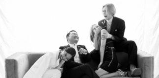 PSY опубликовал веселые и живые фотографии P-Nation family