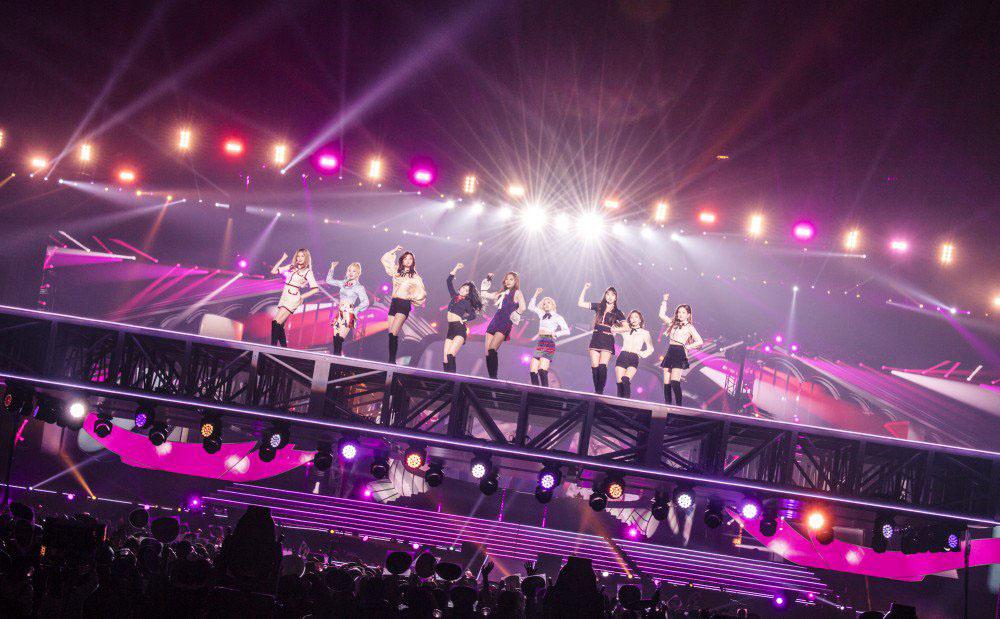 TWICE стала первой женской k-pop группой, которая провела полный Japanese dome tour