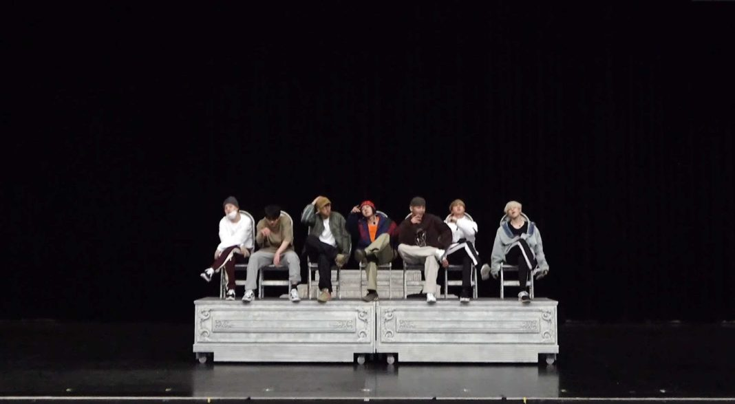 BTS выпустили видео танцевальной практики «Dionysus»