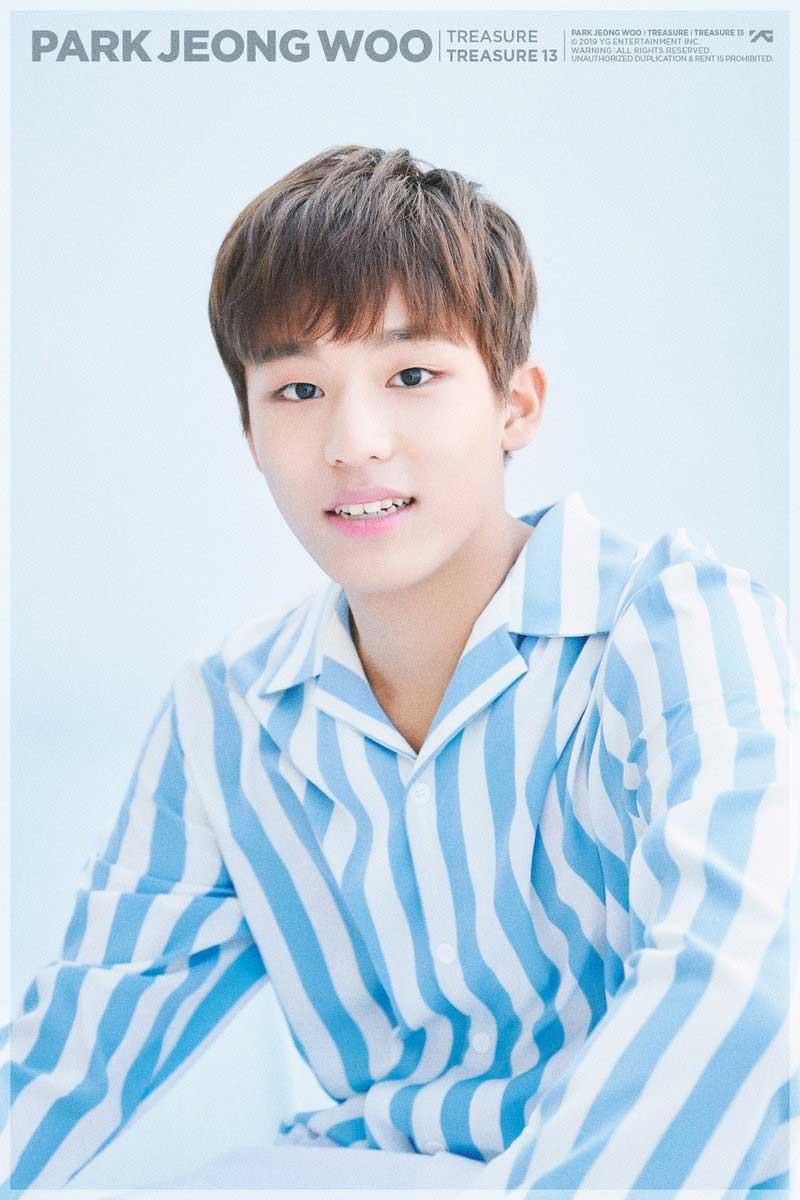 YG обновили профайл Пак Чон У из TREASURE 13