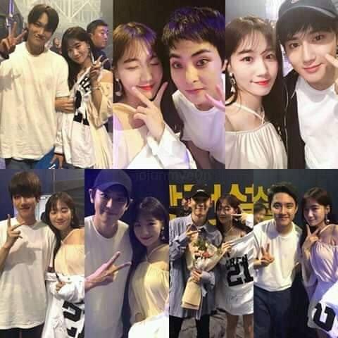 Сэюн и группа EXO