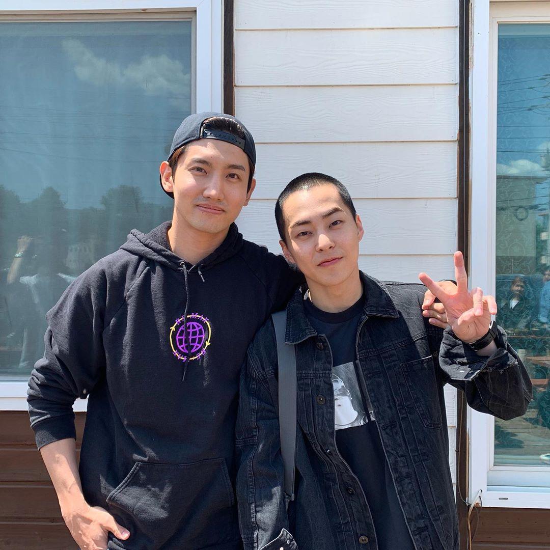 Сюнмин и Шин Чанмин из TVXQ