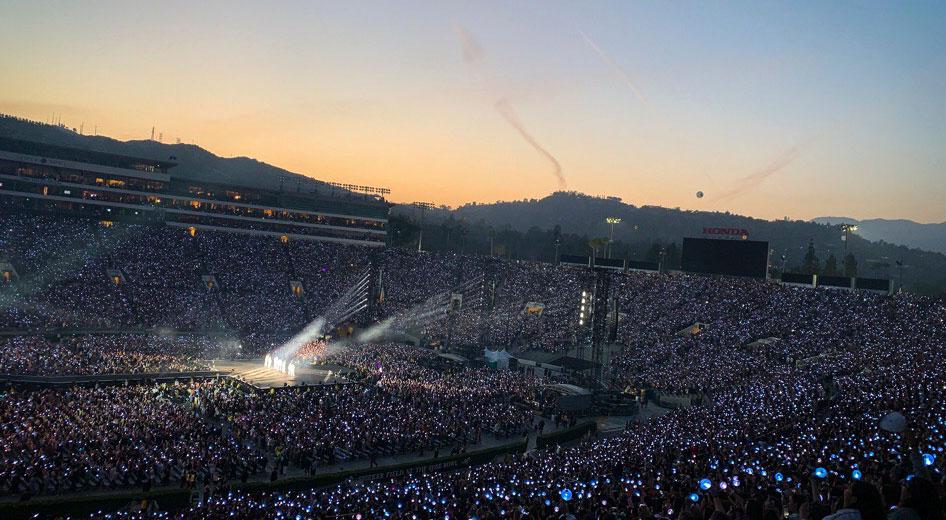 Мировое турне BTS в Лос-Анджелесе!