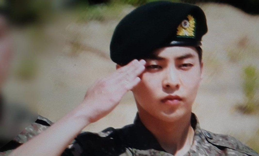 Xiumin - EXO - army