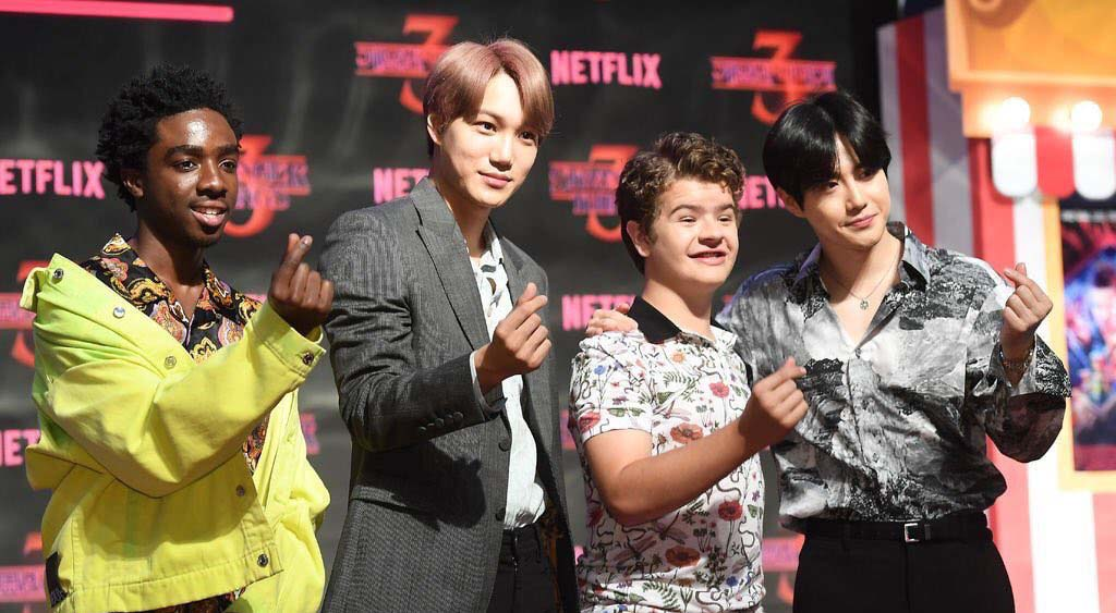 Stranger things with EXO