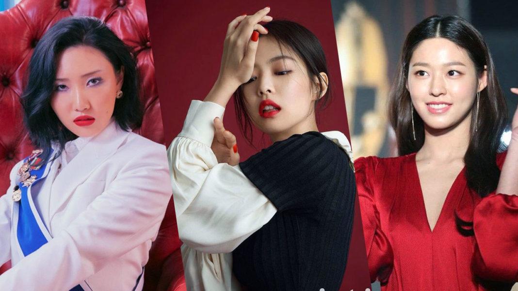 Hwasa-Jennie-Seolhyun