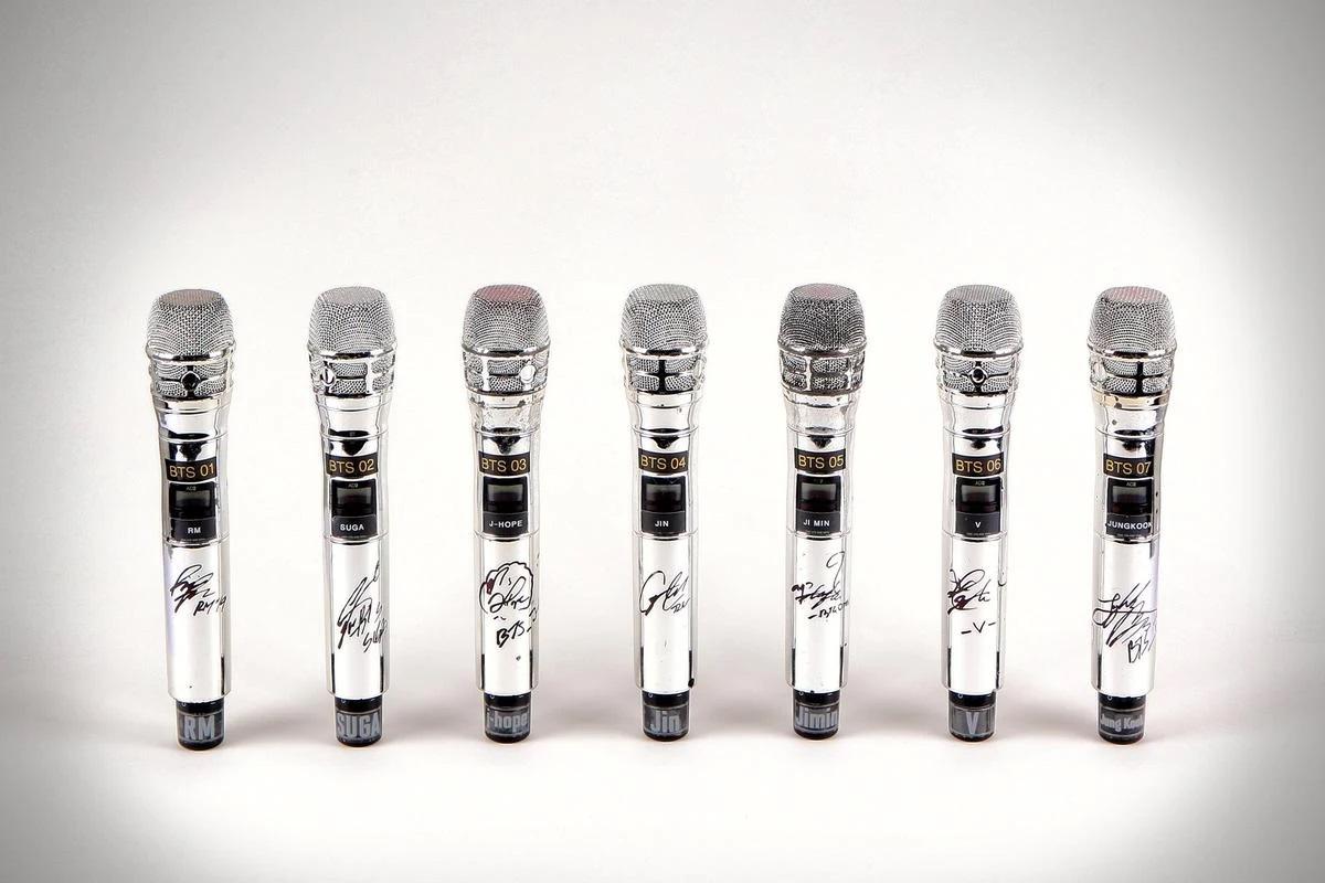 BTS - mic