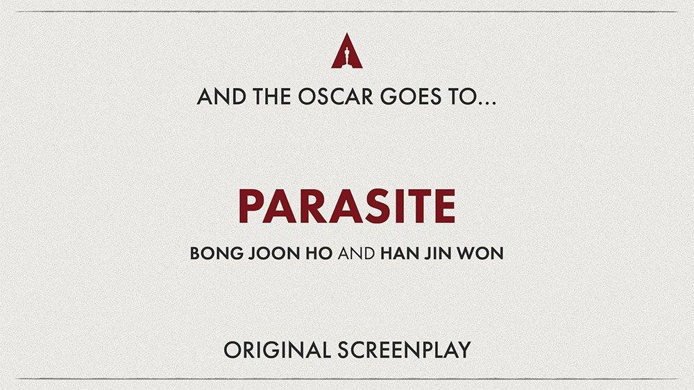 Паразиты получили Оскар!