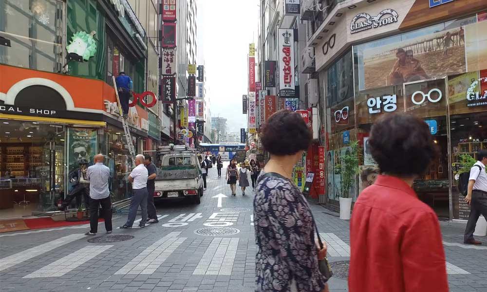 Seoul Myeong Dong