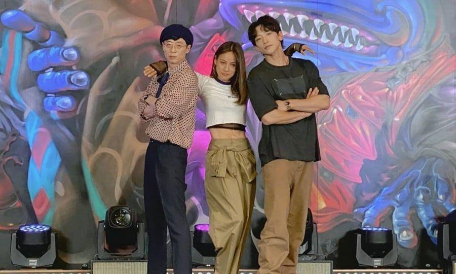Yoo Jae Suk, Lee Hyori, Rain-9173