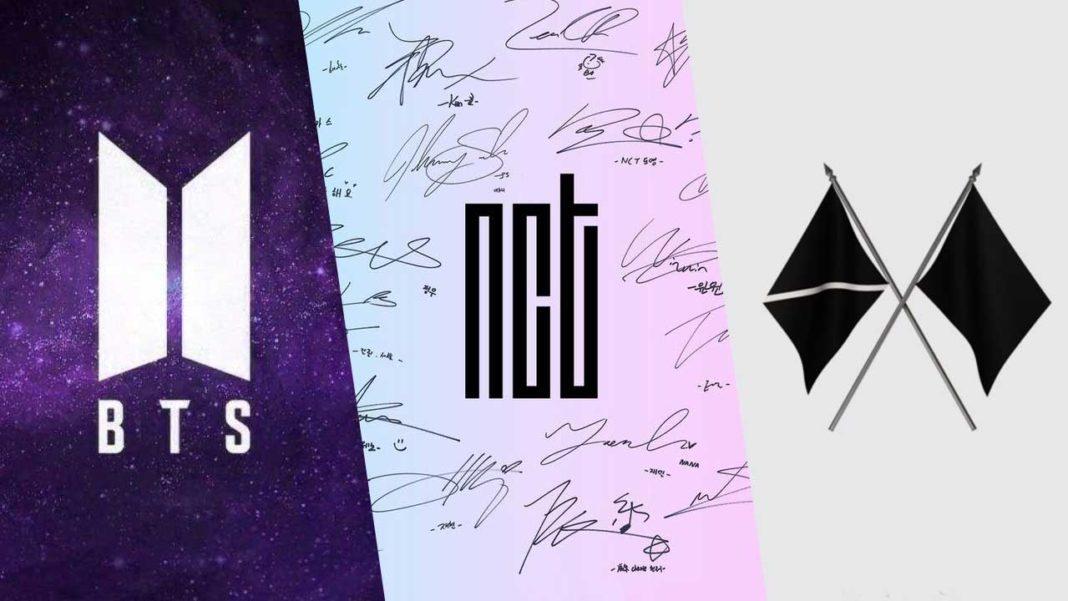 BTS-NCT-EXO