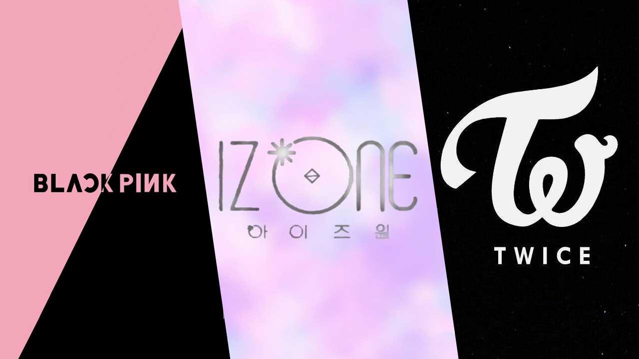 BLACKPINK - IZONE - TWICE
