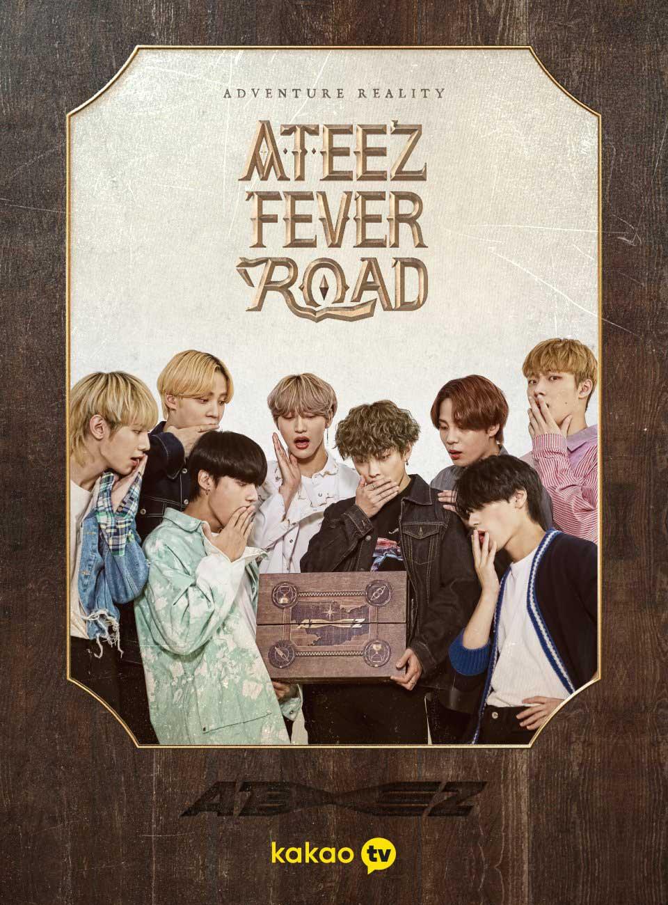 ATEEZ-Fever-Road